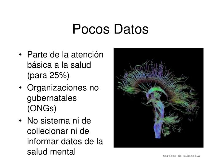 Pocos Datos
