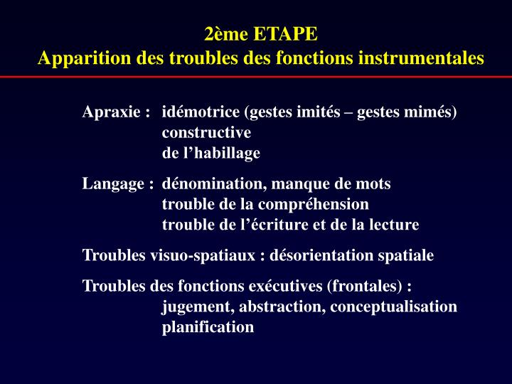 2ème ETAPE