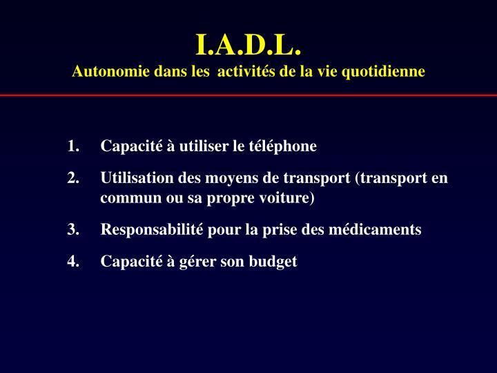 I.A.D.L.