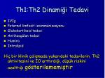 th1 th2 dinami i tedavi