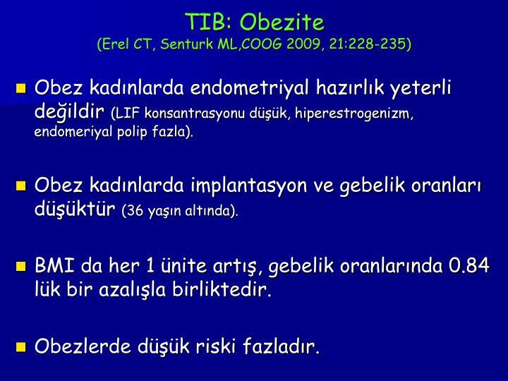 TIB: Obezite