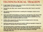 technological tragedy