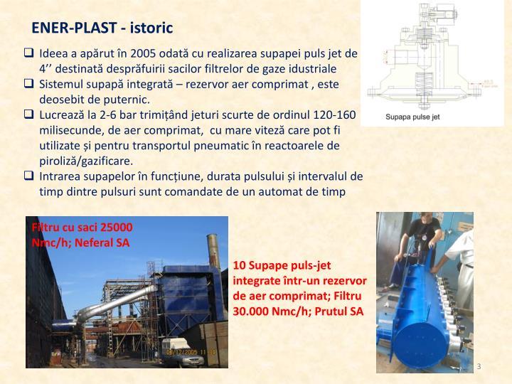 ENER-PLAST - istoric