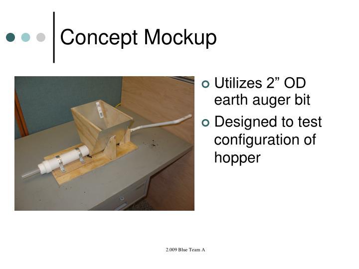 Concept Mockup