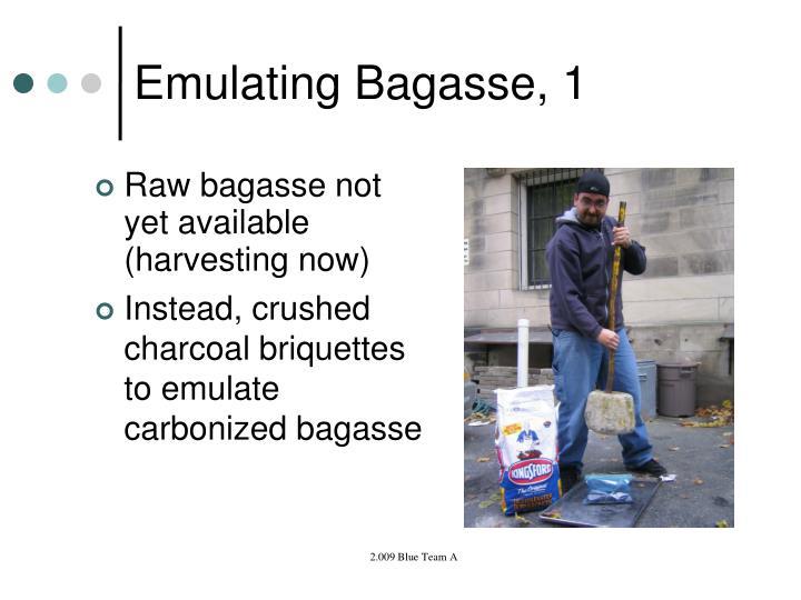 Emulating Bagasse, 1