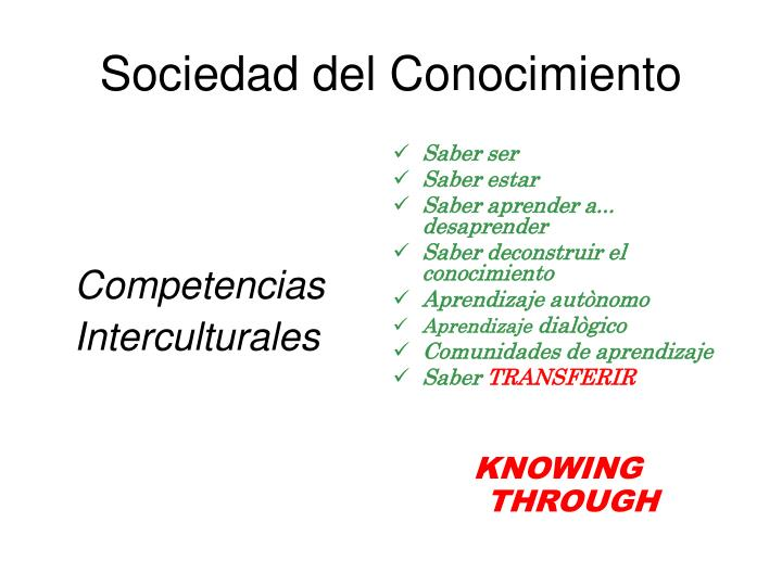 Competencias Interculturales