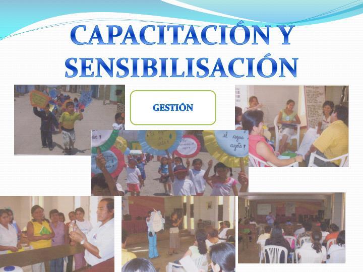 CAPACITACIÓN Y SENSIBILISACIÓN