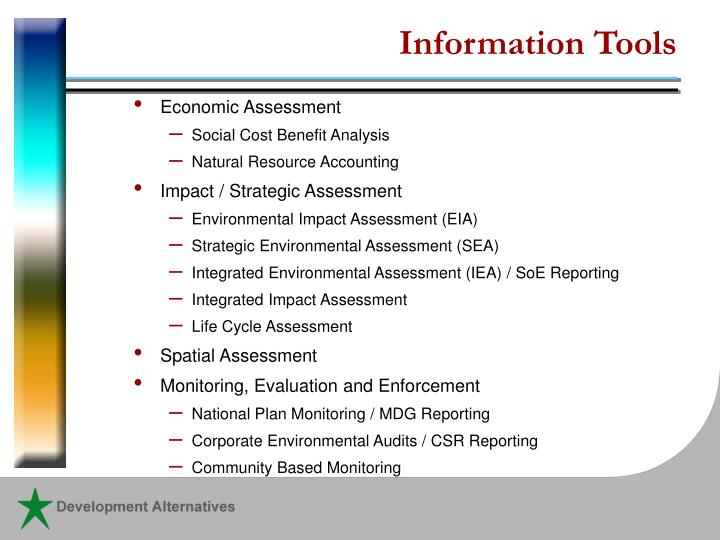 Information Tools
