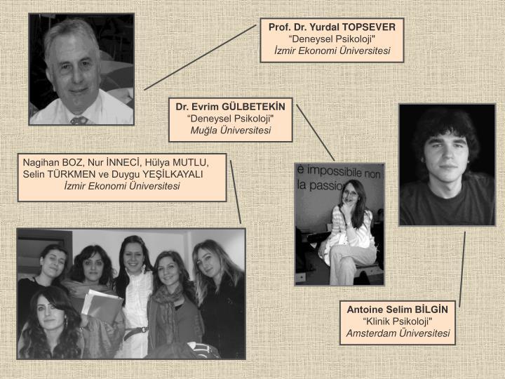 Prof. Dr. Yurdal TOPSEVER