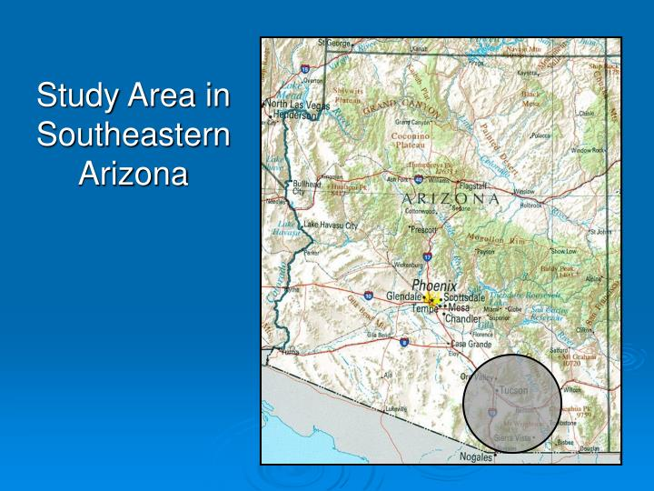 Study Area in Southeastern Arizona