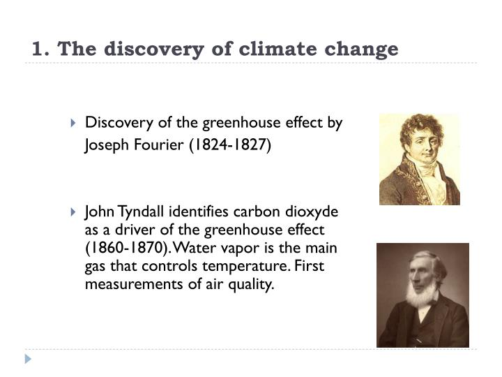 1 the discovery of climate change