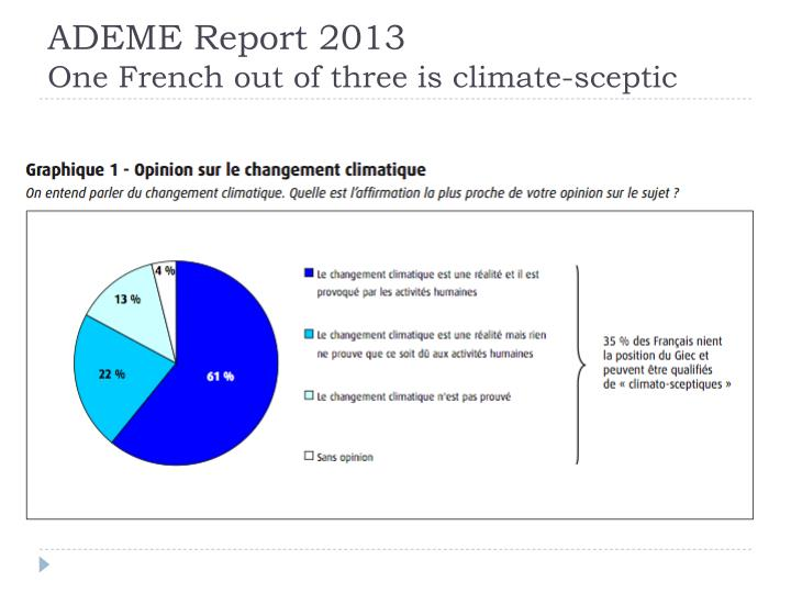 ADEME Report 2013