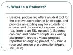 1 what is a podcast1