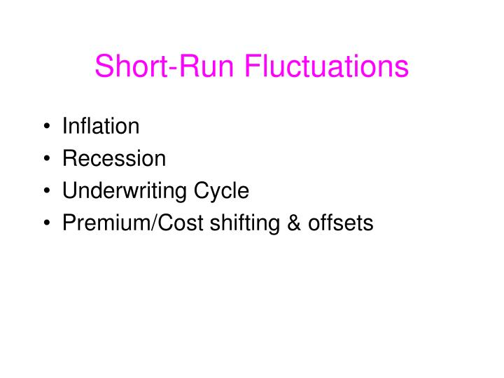 Short-Run Fluctuations