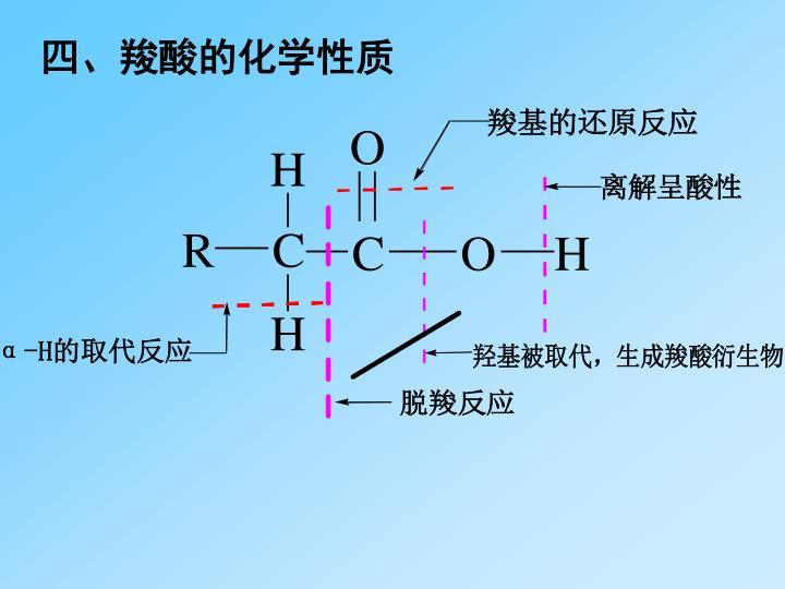 四、羧酸的化学性质