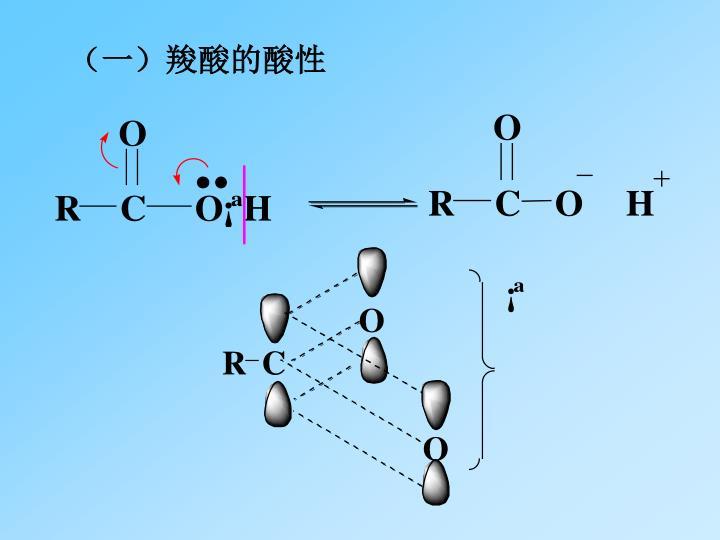 (一)羧酸的酸性
