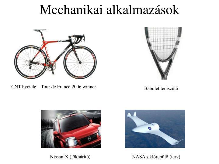Mechanikai alkalmazások