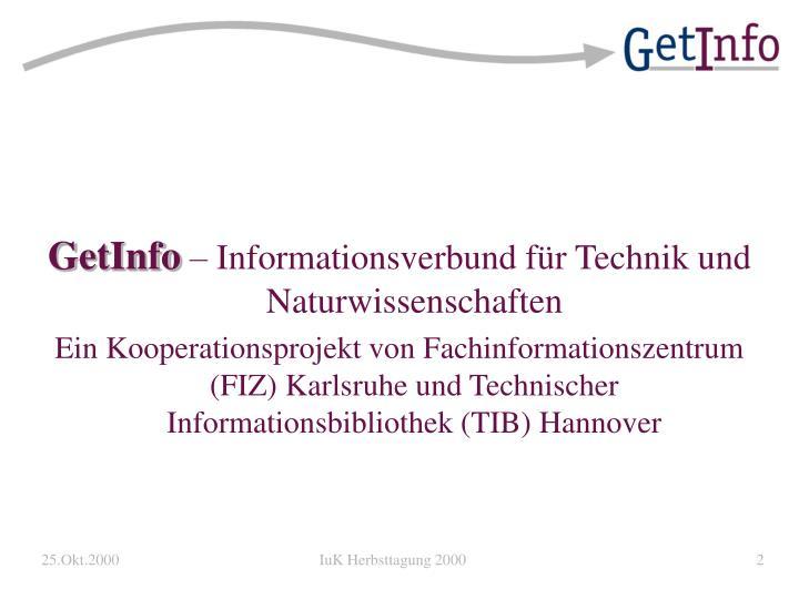 GetInfo
