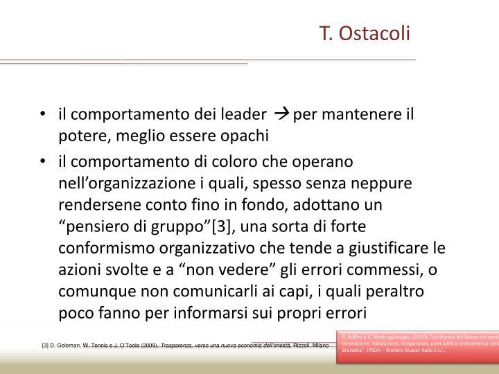 T. Ostacoli