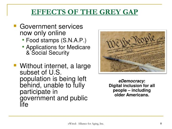 EFFECTS OF THE GREY GAP