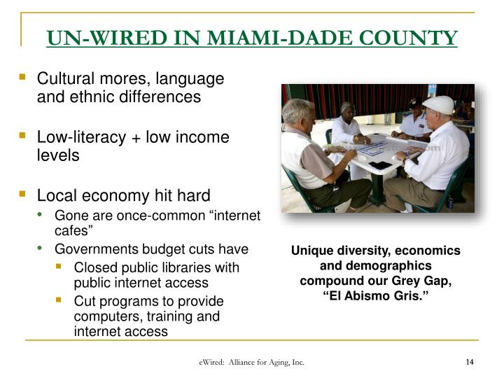 UN-WIRED IN MIAMI-DADE COUNTY