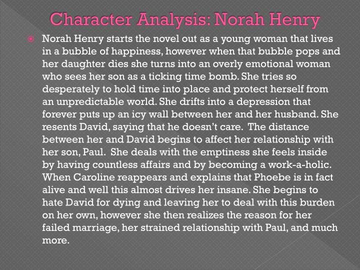 Character Analysis: Norah Henry