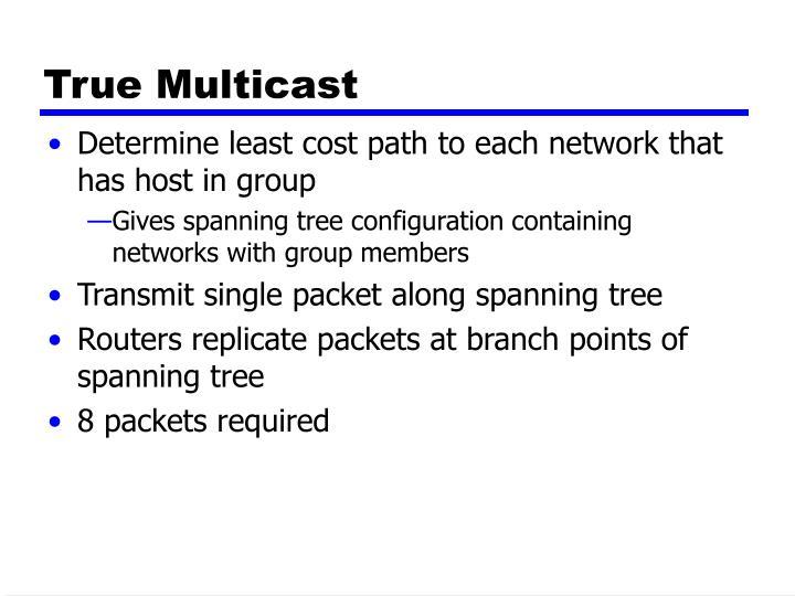 True Multicast