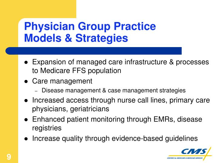 Physician Group Practice