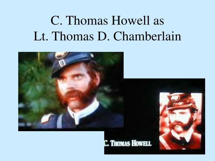 C. Thomas Howell as