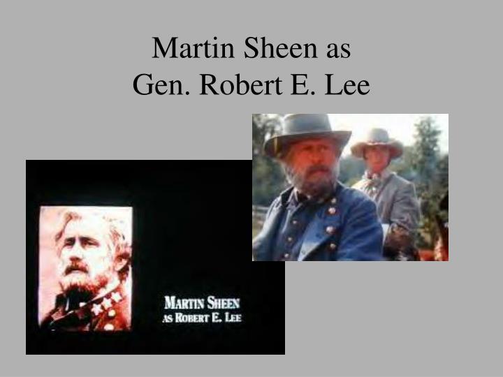 Martin Sheen as