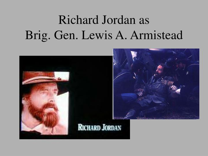 Richard Jordan as