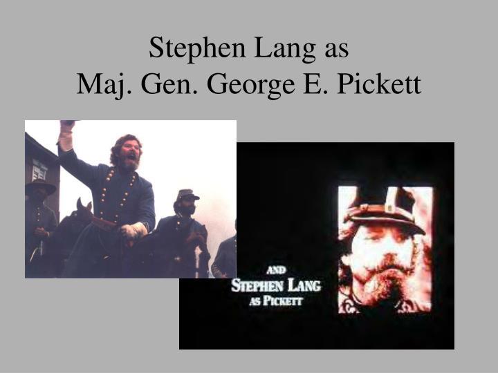 Stephen Lang as