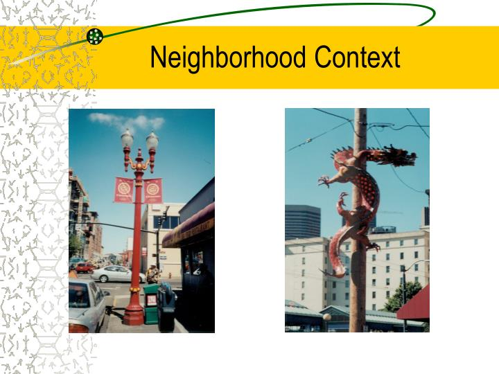 Neighborhood Context