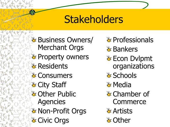 Business Owners/ Merchant Orgs