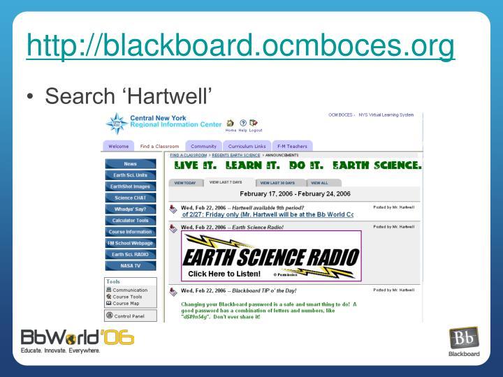 http://blackboard.ocmboces.org
