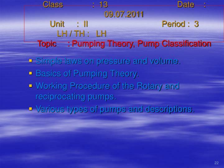 Class   :  13Date    :  09.07.2011