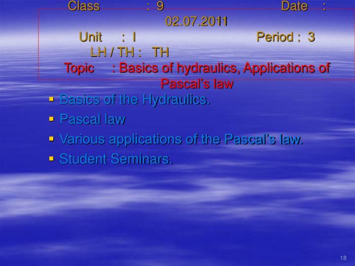Class   :  9Date    :  02.07.2011