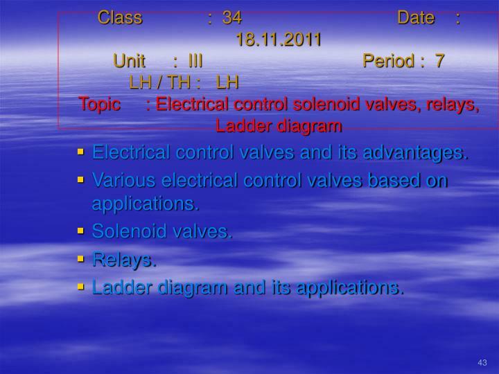 Class   :  34Date    :  18.11.2011