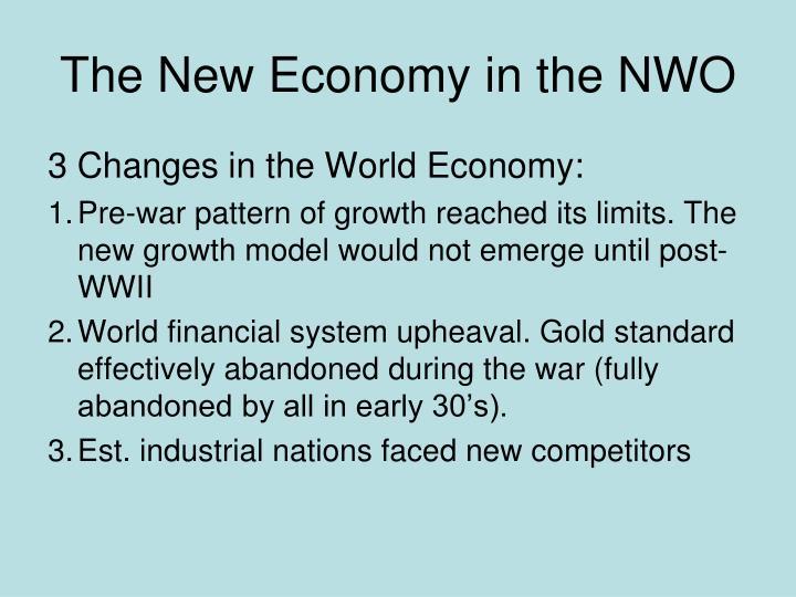 The New Economy in the NWO