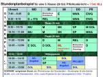 stundenplanbeispiel f r eine 5 klasse 29 std pflichtunterricht 1 std ml