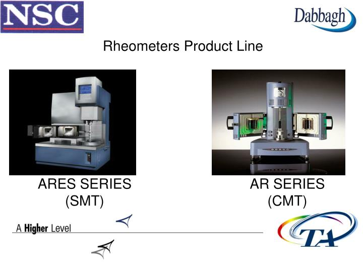 Rheometers Product Line