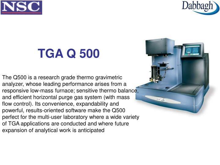 TGA Q 500