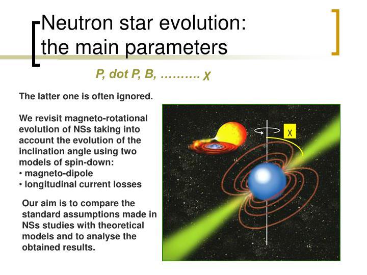 Neutron star evolution: