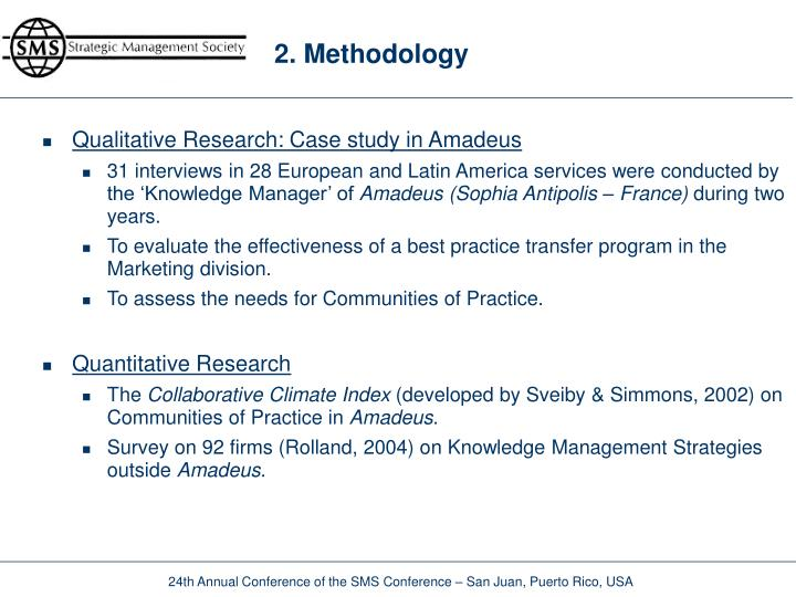2 methodology