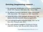 enriching imagineering research