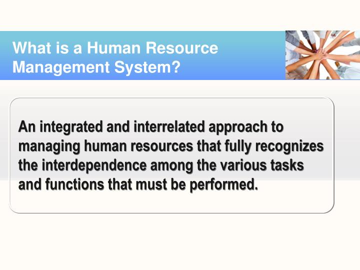 what is human resource system