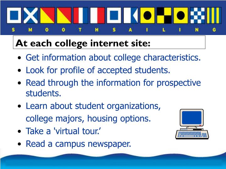 Get information about college characteristics.