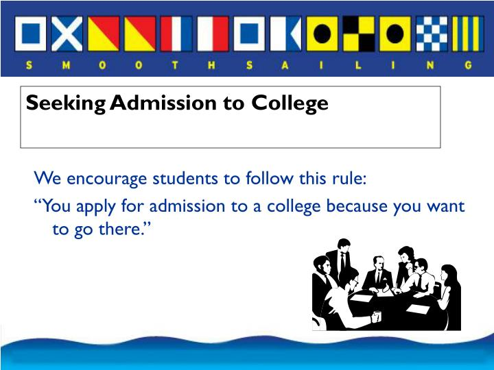 We encourage students to follow this rule: