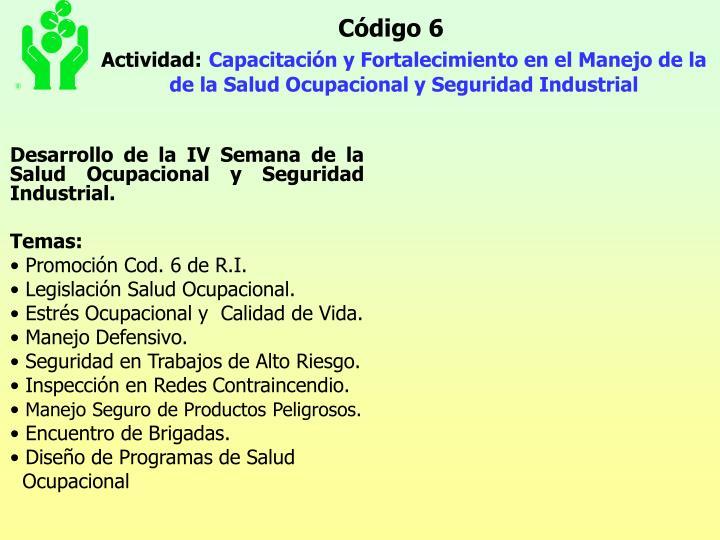 Código 6