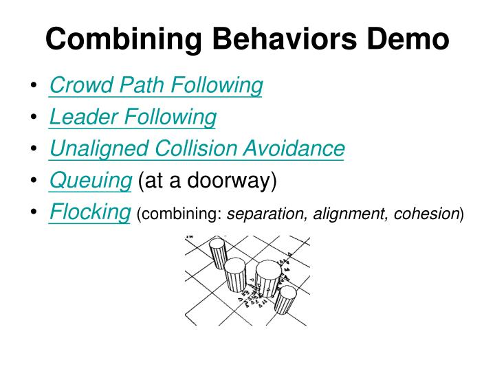 Combining Behaviors Demo